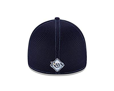 Tampa Bay Rays Navy 39THIRTY Neo Stretch Fit Hat