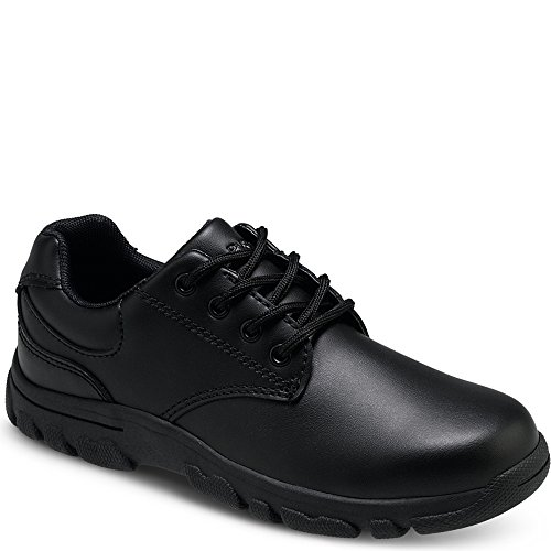 All Black School Shoes