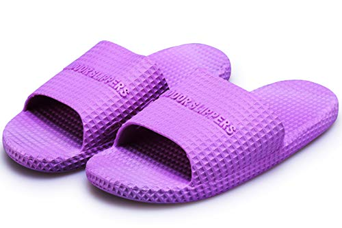Sandals House Women Men's Slippers and Soft Bottom Zertu Slip for Purple Non Summer Men Shower Women's Slippers Bathroom and FST7FpxwYq