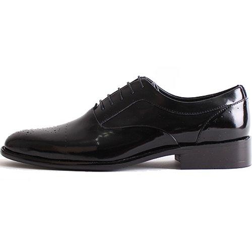 Nieuwe Mooda Oxford Moderne Jurk Casual Heren Lederen Formele Schoenen Zwart