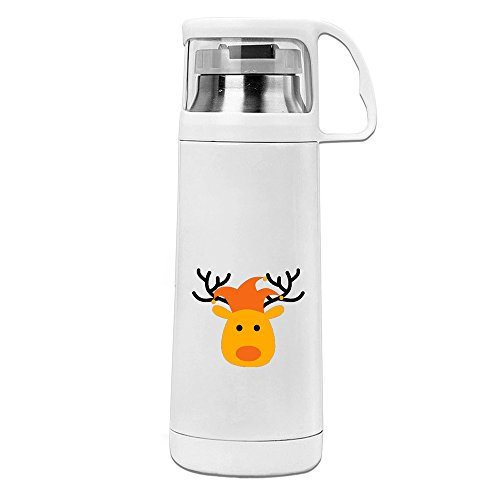 BFWL Sports Water Bottle Kettle Cup Great For Outdoor And Sport Activities Sports Kettle Reindeer In The Carnival (Costumes Roberto Carlos)