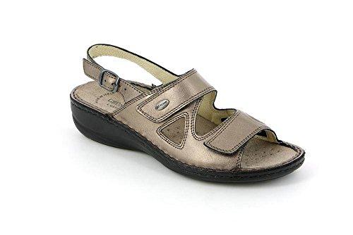 Sandalo DARA SE0034 Donna Piombo Grunland 36 P xqp0F4nwB