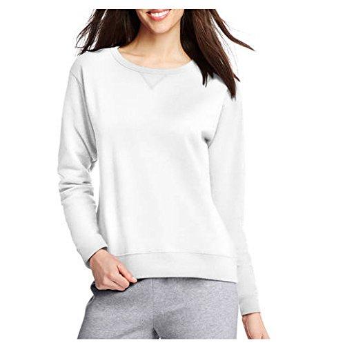 Hanes Women's V-Notch Pullover Fleece Sweatshirt (X-Large (16-18), - 2017 Sale Hanes