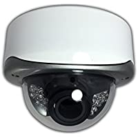 Aposonic A-AH2MVP03 1080P AHD / 960H 1000 TVL Hybrid Varifocal 2.8-12mm Vandal-Proof Dome IR Camera, 24 IR LEDs up to 70 ft