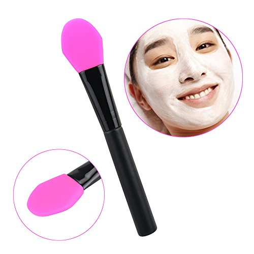 Baomabao Facial Face Mud Mask Mixing Brush Cosmetic Makeup Kit (Hot Pink) (Skull Makeup Kit)