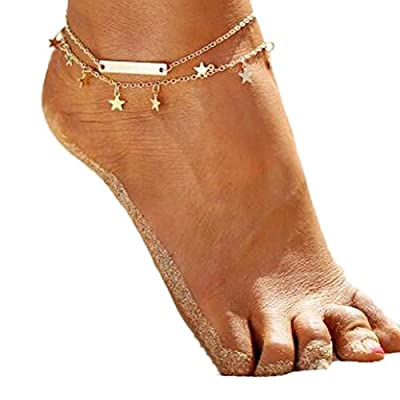 new Besooly Fashion Women Bohemia Beach Barefoot Foot Jewelry Anklet Chain Chain Jewelry supplies