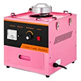 Happybuy Electric Candy Floss Maker With Cover 20.5 Inch Cotton Candy Machine 1030W for Various Parties