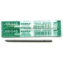Zebra Sharbo X Refill 0.4 Ballpoint Pen, Emerald Green Ink (RJSB4-EG)