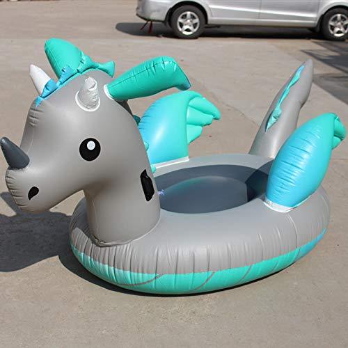 Hinchable Colchonetas Anillo Inflable Gigante De La Natación Del Unicornio Del Flotador De La Piscina Del Dinosaurio Para El Juguete De La Fiesta De ...