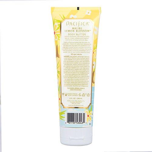 Pacifica Malibu Lemon Blossom Body Butter - 8 Ounce