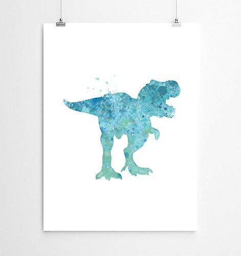 T-Rex Dinosaur Art Print, Dinosaur Poster, T-Rex Wall Art, Trex Poster