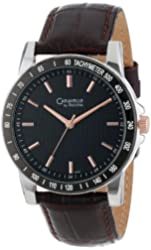 Caravelle by Bulova Men's 45A104 Leather Strap Sport Watch