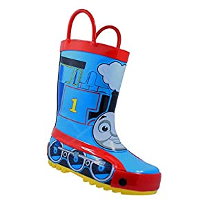 Thomas the Tank Engine 61459 Toddler Boys Blue Rubber Rain Boots