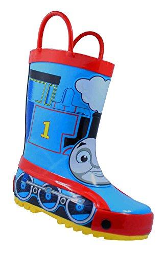 Thomas the Tank Engine 61459 Toddler Boys Blue Rubber Rain Boots