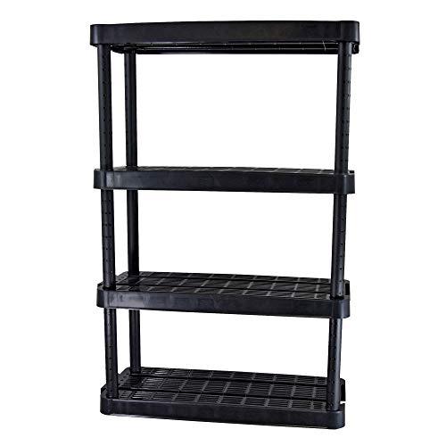 Adjustable 4-Shelf Medium Duty Shelving Unit by Gracious Living