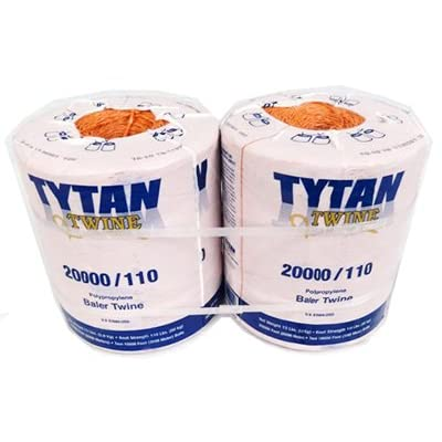 Tytan International PBT20110TONBP Baler Twine, Orange: Garden & Outdoor [5Bkhe0814261]