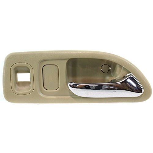 - Evan-Fischer EVA18772041837 Interior Door Handle for ACCORD 94-97 Front RH Inside Chrome Beige w/Power Window Hole Sedan/Wagon(LX-USA/EX/EX-R/SE)