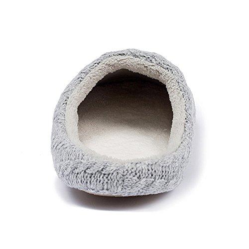 Pantofole Gyang Da Uomo / Donna In Cashmere Antiscivolo, Scarpe Invernali Traspiranti Per Linverno