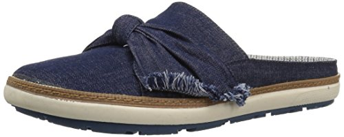 BareTraps Women's VIDA Mule, Dark Denim, 8.5 Medium US ()