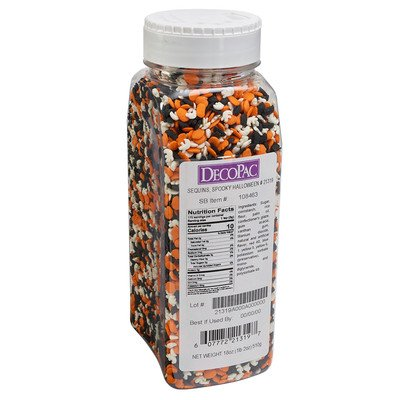 18 oz Spooky Halloween Quins Sprinkles Mix -