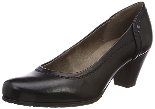 22460 Black Softline Closed Women''s Pumps toe 5TyZc4yq