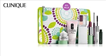 Clinique Feb. 2014 7-pc Spring Skin Care and Makeup Collection Gift Set a 70 Value