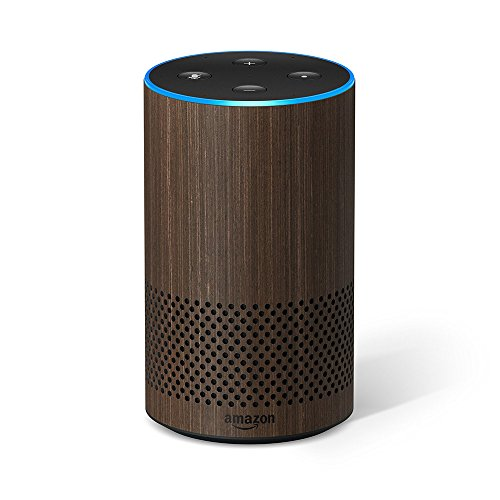 Amazon ECHO Smart Speaker 2nd Generation with Alexa - WALNUT FINISH (Large Image)