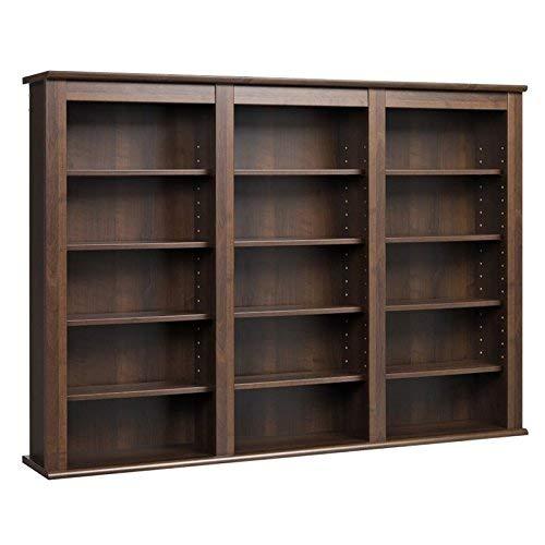 Prepac Triple Wall Mounted  Storage Cabinet, Espresso (Storage Units Wall)