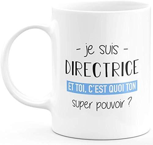 Mug directrice Super Pouvoir -…