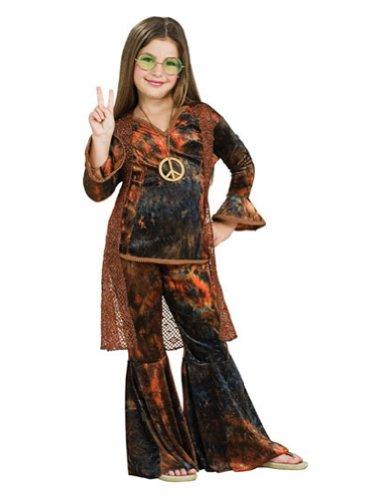Kids-Costume Woodstock Diva Brown Child Md Halloween Costume