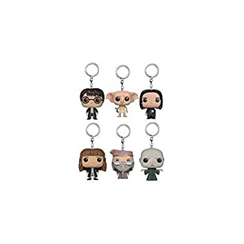 Funko 13335pkast Harry Potter bolsillo Pop llavero surtido ...