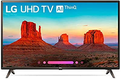 LG Electronics 49UK6300PUE 49-Inch 4K Ultra HD Smart LED TV (2018 Model) (Certified Refurbished)