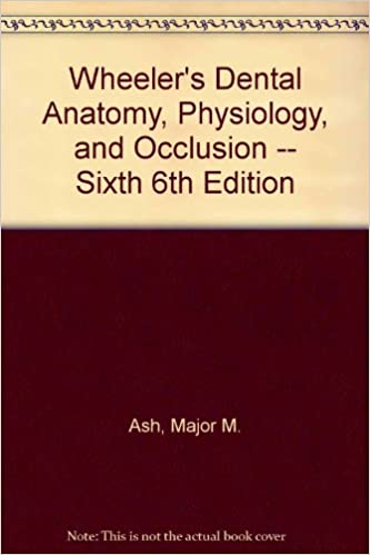 Wheeler\'s Dental Anatomy, Physiology, and Occlusion -- Sixth 6th ...