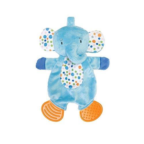 (Manhattan Toy Teether Elephant Soft Snuggle Blankie)