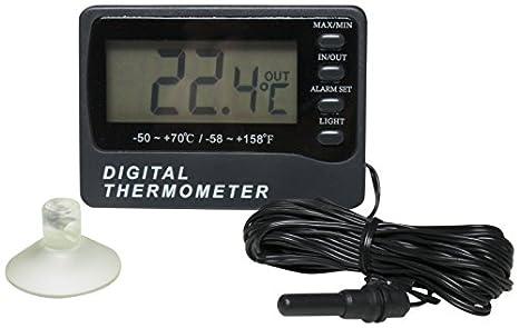 H b Durac calibré double zone Thermomètre électronique avec