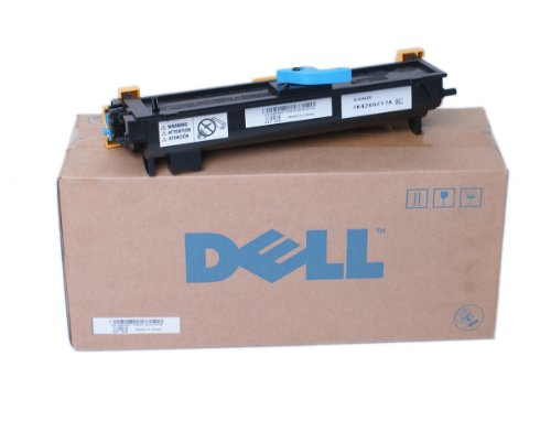 (Genuine Dell XP407 High Yeild 2000 Page Premium Black Toner, For Use In Dell 1125 (1125MFP) Series Printer, Mono Laser Printer (Part Number: RT233), With Laser Drum Cartridge Unit (Part Numbers: GU468, MY323), and This is a High Yield Replacement FOr The XP092 (1000 Pages))