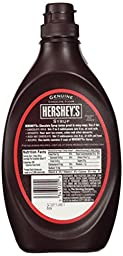 Hershey\'s Chocolate Syrup, 680g (24Oz) Container