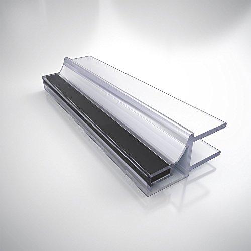 """DreamLine Black Magnetic Strike Vinyl 76"""" Length, 308H-10, for 10 mm. Glass Shower Door, 62007102-1930 on sale"""