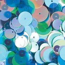 Doodlebug Designs Sequins - Round Seabreeze Collection