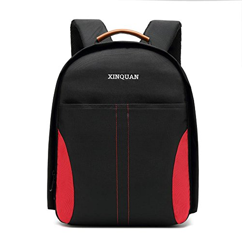 Docooler Camera Backpack DSLR Waterproof Scratchproof Bag Photo Video Travel Outdoor Case Hiking for Canon EOS 20D