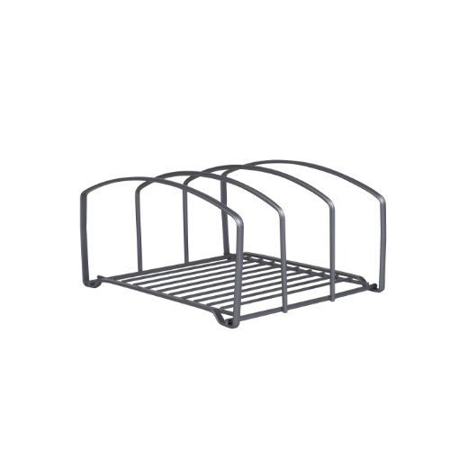 Large Product Image of DecoBros Kitchen Houseware Organizer Pantry Rack, Silver