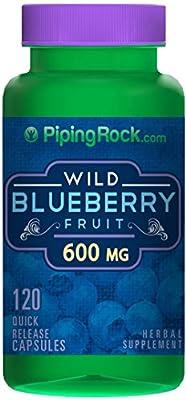 Wild Blueberry Fruit 600 mg