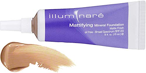 Illuminare Mineral Makeup - Illuminare Mattifying (Ultimate All Day) Mineral Foundation-Florentine Fair SPF 20 (.5 oz)