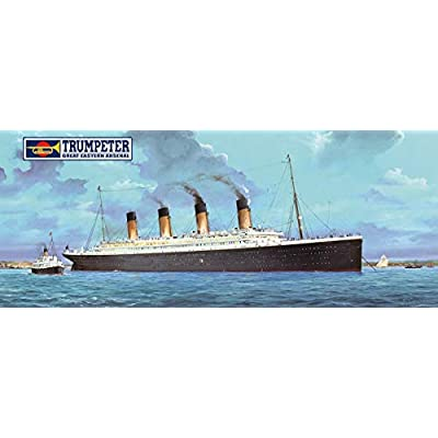 Trumpeter 03719-1: 200 RMS Titanic + LED Lights Model kit: Toys & Games