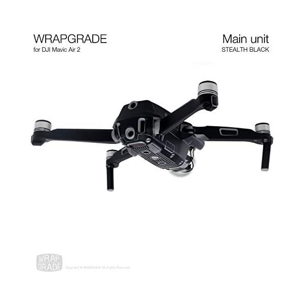 WRAPGRADE Main Unit Skin Compatibile con Mavic Air 2 (Stealth Black) 2 spesavip