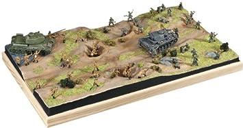 Revell 03189 Stalingrado - Maqueta de Campo de Batalla con Tanques Panzer III y T-34 (Escala 1:72)