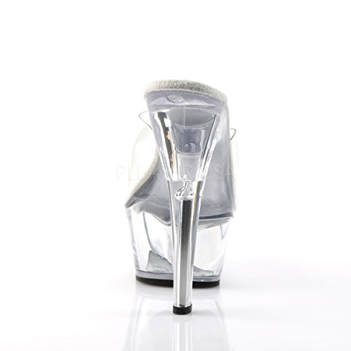 Tabledance Gogo Clear Classic Kiss 201 Slide Platform PleaserUSA Womens Clear wPftxn