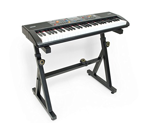 Plixio 61 Key Electronic Music Keyboard Piano and Adjustable