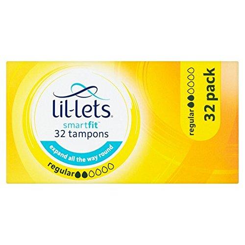 Lil-Lets Regular Tampons 32 per pack
