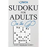 Sudoku for Adults on the Go: Easy medium Hard